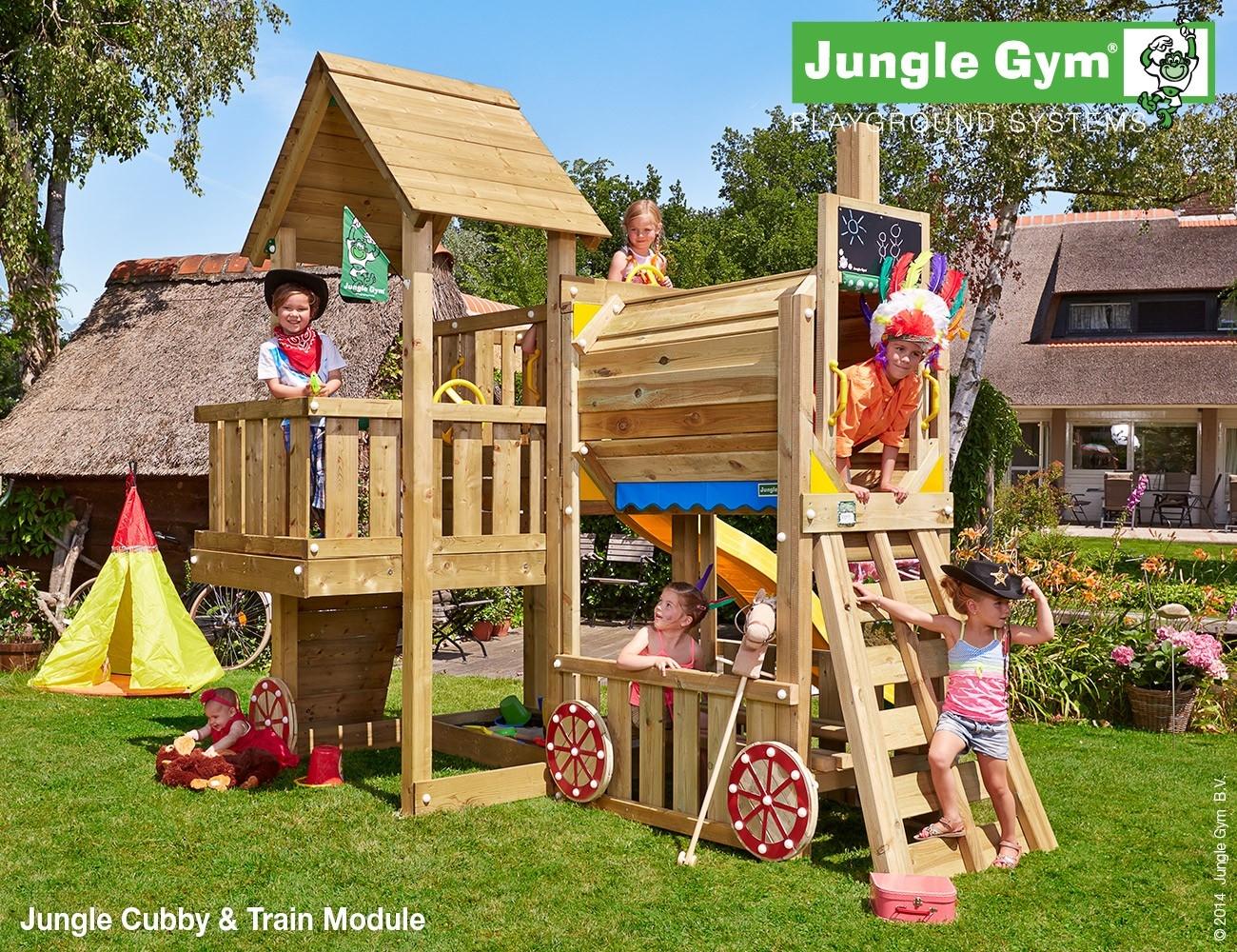 Jungle Gym   Train Module   DeLuxe
