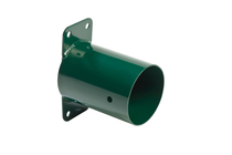 KBT | Hoekverbinding 'muur' rond | 100 mm | groen