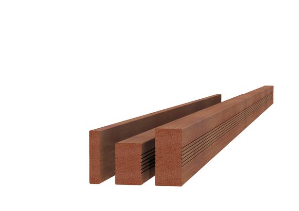 Hardhouten AVE regel | 45 x 70 mm | Geschaafd | 400 cm