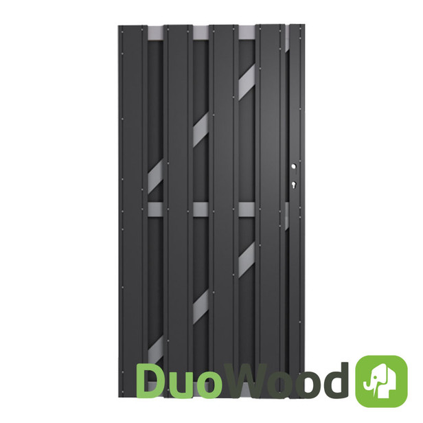 DuoWood | Alu-line tuindeur 90x180 cm