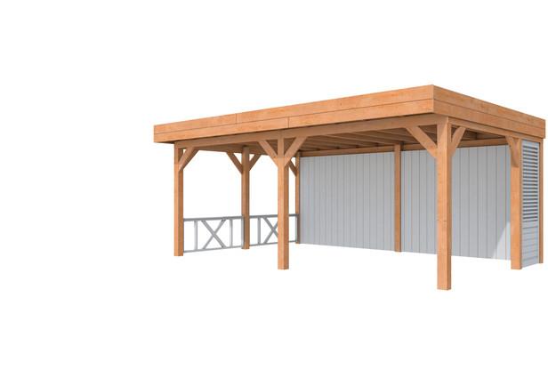 Douglasvision | Buitenverblijf Modulair | 600 x 400 cm | Voorbeeld 1