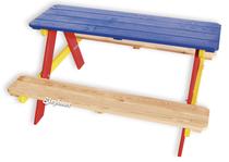 Elephant | Kinderpicknicktafel bont geverfd