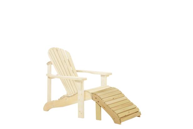 Canadian feetrest deckchair