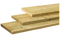 Dekdeel / Vlonderplank 28 x 195 | Grenen 400cm