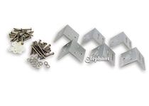 Elephant | Hoekbeslag tuinscherm | Aluminium