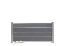 Elephant | Tuinscherm Modular | 180x97 cm | Rock Grey/Aluminium