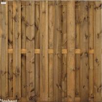Elephant   Timber XL tuinscherm grenen