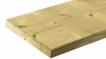 Tuinhout plank NE Vuren | 28 x 195 mm | 300 cm