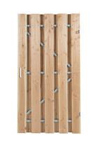 Carpgarant | Douglas poort | Universeel | op stalen frame fijnbezaagd | 100 x 180cm