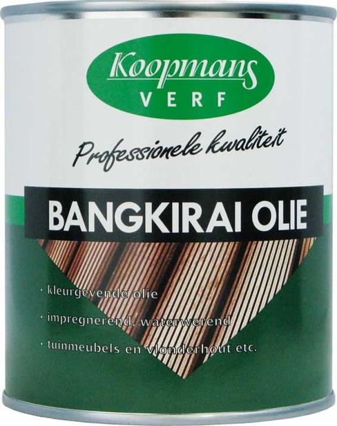 Koopmans | Bangkirai Olie | 750 ml