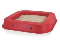 Kettler   Zandbak met afdekhoes   Rood