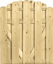 CarpGarant | 1731 | Deur toog afgerond verticaal | 120 x 100 cm