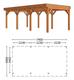 Trendhout | Buitenverblijf Mensa L 7400 mm | Combinatie 1