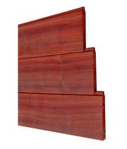 Padouk Planchetprofiel | 15 x 130 mm | 125 cm