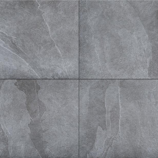 Gardenlux | Ceramica Romagna 60x60x2 | Ardesia Black