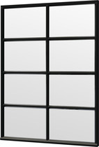 Trendhout | Steel Look raam module B-04 | 163x220 cm