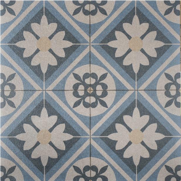 Gardenlux   Designo Mosaic  60x60x3   Blue