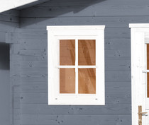 WEKA | Enkel raam tbv 21 en 28 mm wanden | Wit