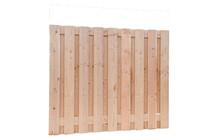 Carpgarant | Scherm Douglas Geschaafd | 19-planks | 150 x 180 cm
