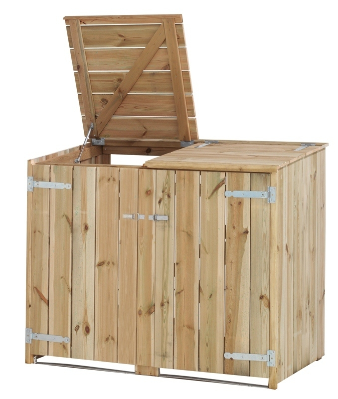 Woodvision | Dubbele Containerkast