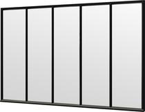 Trendhout | Steel Look raam module E-01 | 340.5x220 cm