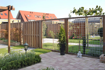 CarpGarant | 2041 | Draadscherm in kader hardhout | 180 x 90 cm