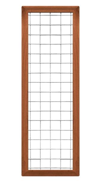 CarpGarant | 2042 | Draadscherm in kader hardhout | 180 x 60 cm