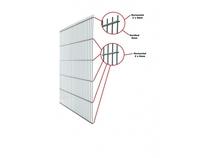 CarpGarant | Dubbelstaafs gaasmat | Antraciet 160 x 200 cm