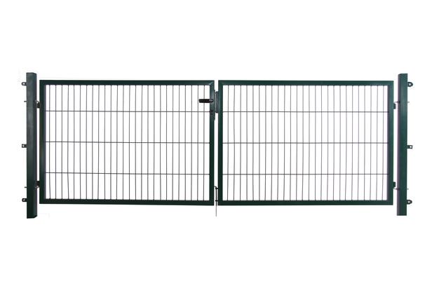 CarpGarant | Tuinpoort compleet dubbel | Groen 100 x 300 cm