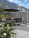 CarpGarant | Pearl Spring licht grijs deur | 180 x 90 cm