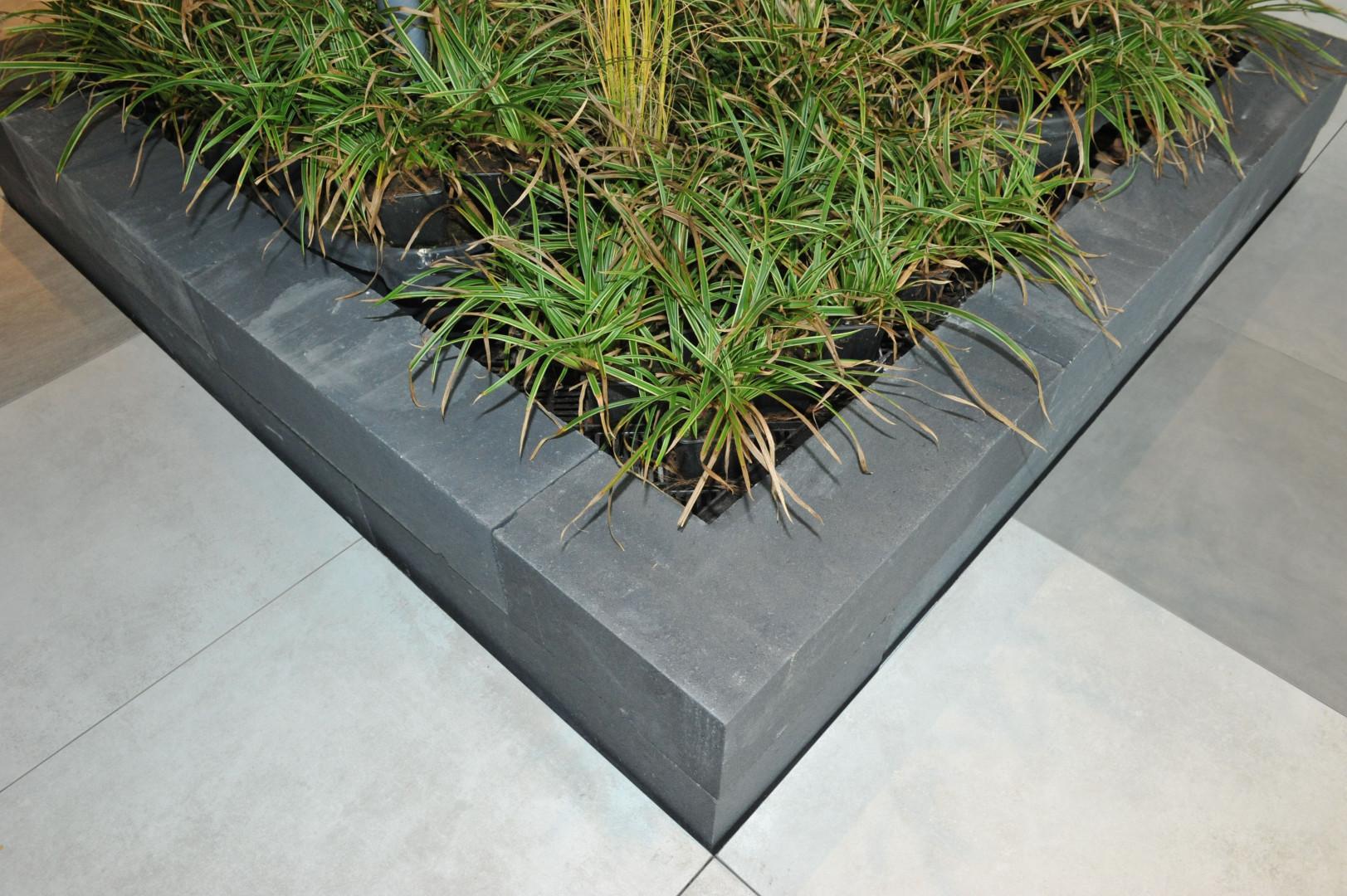 Excluton | Linia Excellence 30x60x12 cm hoek | Gris