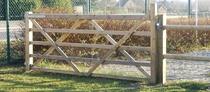Gardival | Paddock draaihek / poort | 135 x120 cm