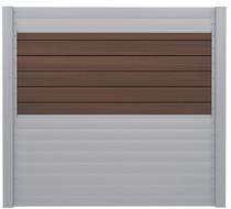 IdeAL   Scherm Zilver- Symmetry Burnt Umber   180x180   6 planks