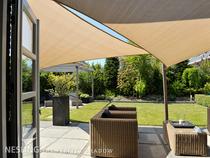 Nesling | Coolfit Schaduwdoek Driehoek | 360 Zand