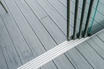 Gardendreams | Onderrail met goot | 300 cm | 4-rail