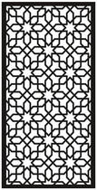 Cortenscherm Pinerolo - 120x60 cm