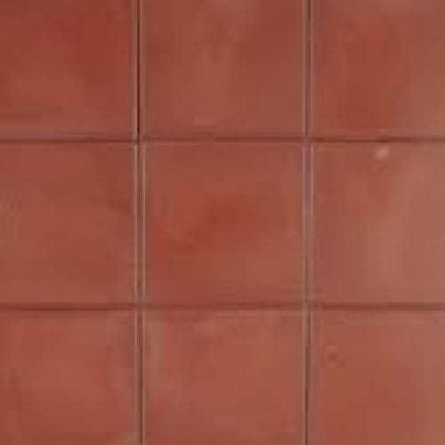 Excluton | Betontegel met facet 30x30x4.5 | Rood