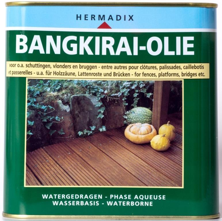 Hermadix Bangkirai Olie 25 L