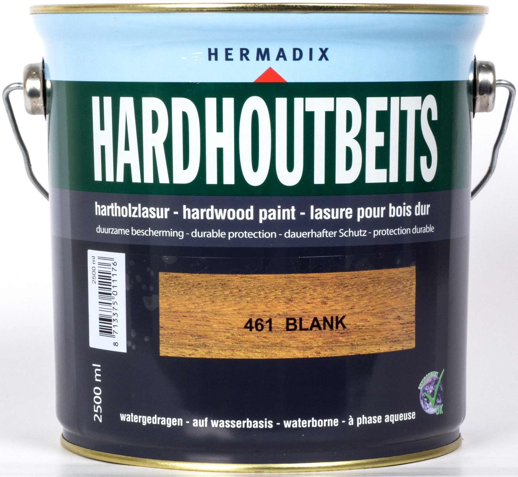 Hermadix Hardhoutbeits 461 Blank 25 L