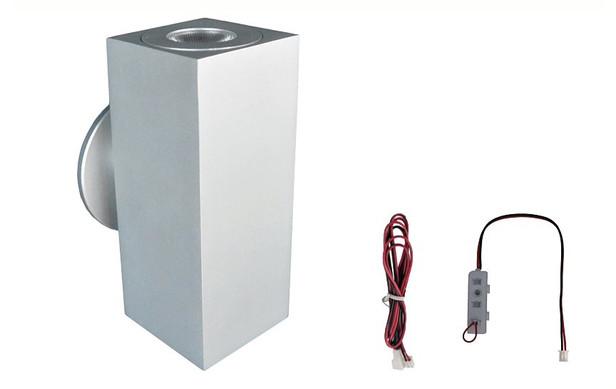Trendhout | Led-wandlamp up/down 700mA | 2 stuks
