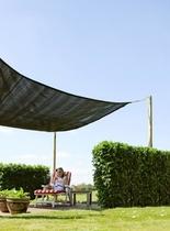 Woodvision | Sunsail Schaduwdoek Vierkant Waterproof | 400 cm Ivoor OP=OP