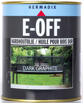 Hermadix | E-OFF Hardhoutolie Graphite | 750 ml