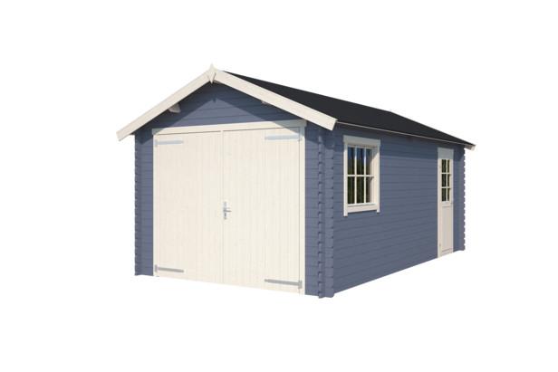 Nubuiten | Garage Dillon | Pigeon Blue | 560x320 cm