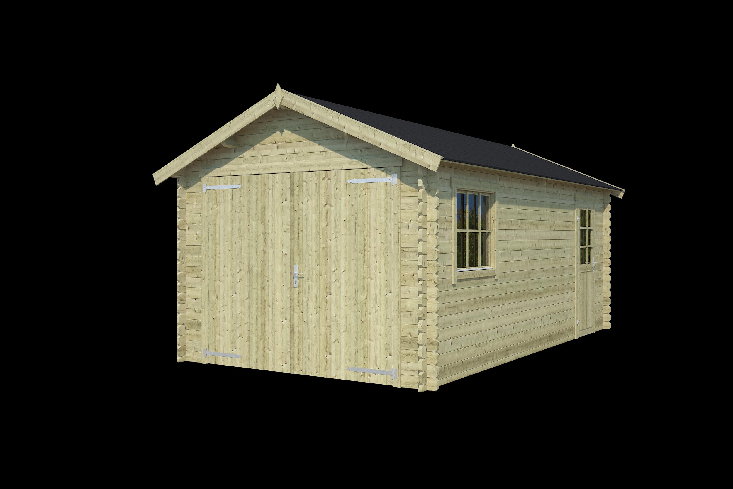 Nubuiten | Garage Dillon | Groen | 560x320 cm