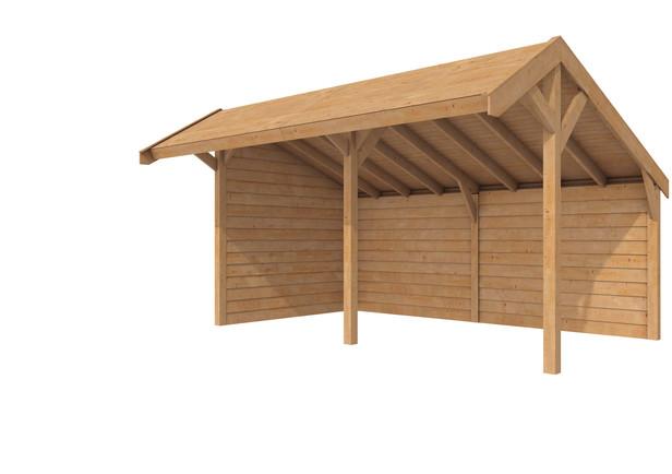 Westwood doe-het-zelf Kapschuur | 530 x 300 cm