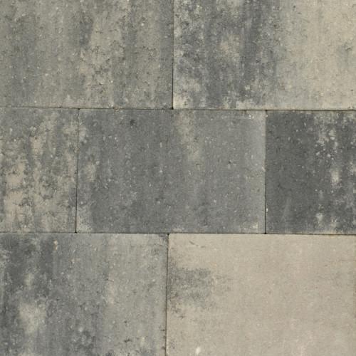 Excluton | Puras 20x30x4 | Grijs/zwart