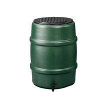 Regenton | Donker groen | 114 Liter
