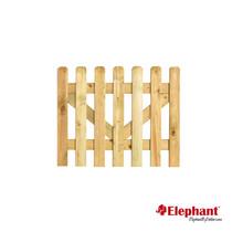Elephant | Tuinpoort Classic | 100x80 cm