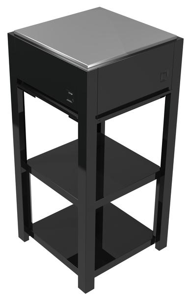 OneQ Shelf | Legplank | RVS of zwart