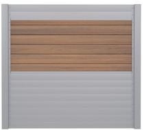 IdeAL   Scherm Zilver- Symmetry Warm Sienna   180x180   6 planks